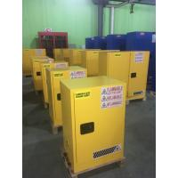 Quality Laboratory Paint Storage Flammable Safety Cabinets For Oil Station , Long Life for sale
