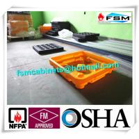 Quality Drum Spill Containment Pallets , Pallet Containment Tray For Spilled Fluids for sale