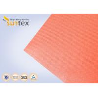 Buy High Temperature 550 C Degree Resistant Silicone Coated Fiberglass Fabric For Welding Curtain Welding Blanket at wholesale prices