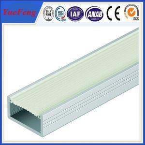 Quality China aluminum extrusion profiles for leds factory,customized aluminum led housing for sale