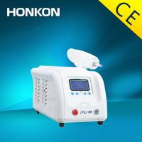 Quality Portable Nd YAG Laser Tattoo Removal / Ota's nevus Wrinkle Removal Machine with CE for sale