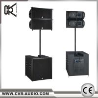 Quality Full Range Dual 8 Inch Pro Line Array Speaker For Concert Sales for sale