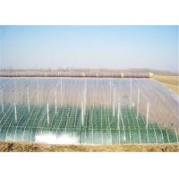 Quality Holographic Plastic Greenhouse Film Single Layer PE Material , 1m-20m Width for sale
