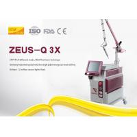 China Picosecond Nd Yag Laser Tattoo Removal Machine Steel Sheet Material For Salon on sale