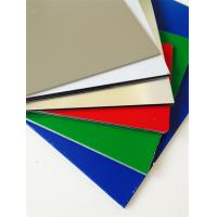 Quality Colorful Marble / Wooden Like ACP Aluminium Composite Sheet Aluminum Ceiling Panels for sale