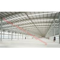 Quality Prefabricated Industry Steel Building Designed By PKPM, 3D3S, X-Steel for sale