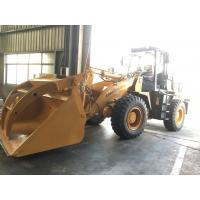 Quality Lonking 3 ton front end loader with steel pipe clamp for sale for sale