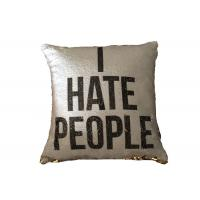 Buy cheap Wholesale Printing Personalized Logo I Heat People Pillow Cases For Sofa or Car from wholesalers