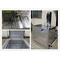 Quality 360L 28KHZ Moulds Automatic Ultrasonic Cleaner Power Lift With Agitation for sale