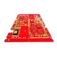 Quality 8 layer Heavy copper pcb Red soldermask with 5oz copper thickness for sale