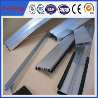 Quality extruded aluminium custom profile manufacturer,6063 aluminium U H profile for sale