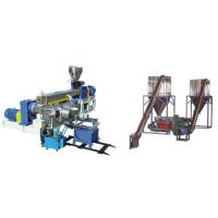 Quality PVC Polyethylene Extruder Machine , Plastic Pelletizing Equipment For Wires Materials for sale