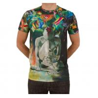 latest fashion design tee shirts sublimation printing 100 polyester t shirts cheap men t shirts china for sale