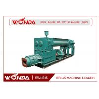 China Geramic Mixing Blade Automatic Brick Making Machine / Manufacturing Machine Vacuum Extruder on sale