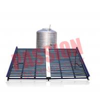 China Horizontal Type Solar Vacuum Tube Collector , Solar Hot Water Collector 500L on sale