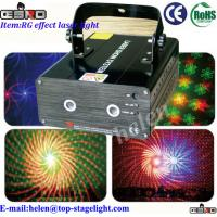Quality DMX512 RG Gobo Laser Lighting Effects for sale
