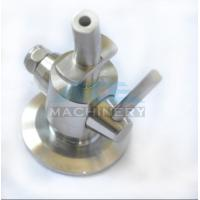 Buy Sanitary Stainless Steel Aseptic Clamp Sample Valve Sample Valve for Beer at wholesale prices