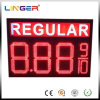 Quality IP65 Waterproof Electronic LED Gas Price Display Customized Design for sale