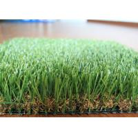 Quality U Shape Landscaping Artificial Grass For Patio 10 Years Warranty for sale