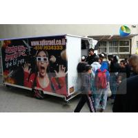 Quality Amazing Mobile Truck 5D Cinema With 6 Seats And Special Effects Inside for sale