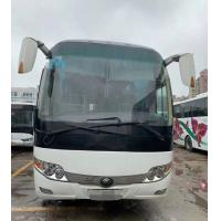 Quality 2013 Year Diesel Used Yutong Buses 58 Seats Zk 6110 White Color for sale
