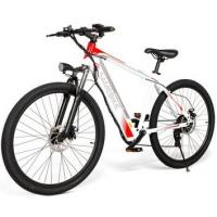 Quality WWW.YOLCART.COM Samebike SH26 High Carbon Steel Mountain Electric Bicycle - White for sale