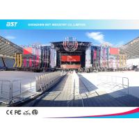 Quality Ultra Thin SMD 3535 Transparent LED Display Mould For Concert And Show for sale
