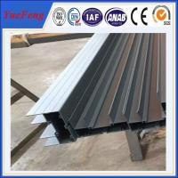 Quality 6000 series double glazed windows australian standard t-slot aluminum track for sale