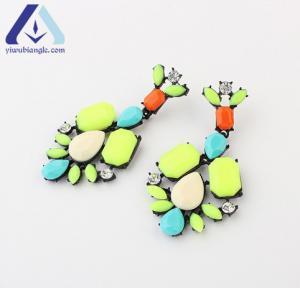 Buy cheap Alloy 14.4g 7.2cm Long Irregular Retro Fashion Geometric Stud Earring Ornaments BEH1037 from wholesalers