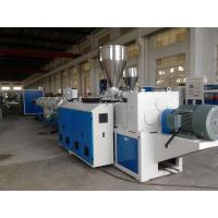 Quality UPVC / PVC Pipe Extrusion Line Full Automatic Plastic Pipe Production Line for sale