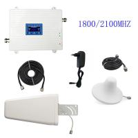 3G 4G Cell Phone Signal Repeater FDD LTE 1800/2100MHz UMTS/HSPA Booster Amplifier for sale