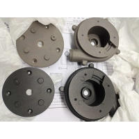 Buy cheap Black Anodizing ADC12 A380 ADC11 Motor Fan Cover from wholesalers