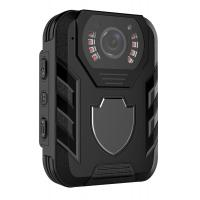 Quality Wireless Police Wearing HD Body Camera Infrared 10 Meter With Face Detect for sale