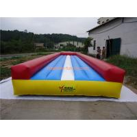 Quality Colorful Inflatable Sports Games ,Inflatable Air Tumble Track Inflatable Gym Mat for sale