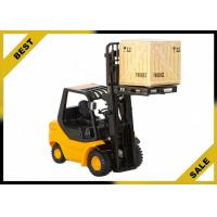 Quality 2 Ton Manual Fork Lift Trucks Hydraulic 3 Meter Lift Height With Adjustable Safety Seat for sale