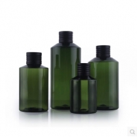 Quality 118mm High 30cc Refillable Pet Plastic Spray Bottles  Containers for sale