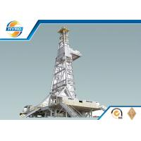 Professional Mechanical Rig Drilling Equipment With Integral Drillers Cabin
