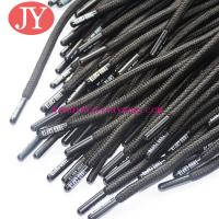 Black Rubber painting coating plastic aglet for pants string rope string head yeezy for sale