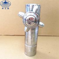 China Max.tank diameter 15m, DG15 316L stainless steel 360 spray 3D rotary tank cleaning machine for sale