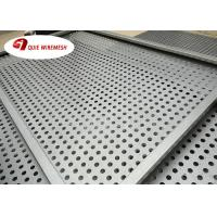 Buy Regular 8mm pitch online stainless steel perforated sheet for decorative at wholesale prices