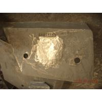 Quality High Cr Wear-resistant Casting Parts Iron Chute Liner Hardness More Than HRC54 for sale