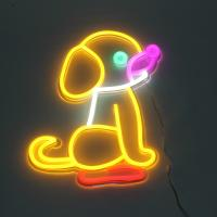 China Dog LED Neon Signs Decor Light H505 * W414MM Dimension CE Approval on sale