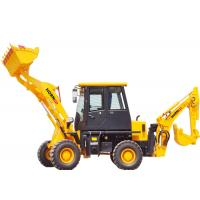 Quality Articulated 4WD Wheel Loader , Small Backhoe Loader AZ22-10 With Loader Spare Parts for sale