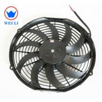 China Bus Low Noise Centrifugal Fan , 12V/24V DC Brush Ultra Thin Electric Radiator Fan  on sale