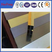 Quality hot selling! extruded aluminum channel / aluminum glass channel OEM for sale