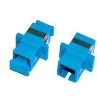 Quality UPC / APC SC Fiber Optic Adapter Single Mode Simplex Or Duplex For Multimedia for sale