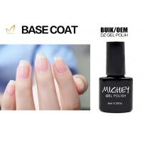 Quality Easy Apply UV / LED Gel Base Coat , Transparent Base Coat On Natural Nails for sale