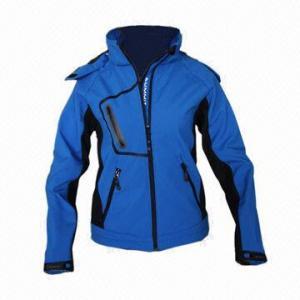 Quality Women's Waterproof Softshell Jacket, Windbreaker, Outdoor Wear, Functional Outdoor Coat for sale
