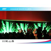 Quality Indoor Soft RGB DJ Led Curtain Display With Aluminum Panel , 1/4 Scan for sale