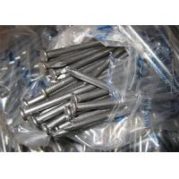 Quality Standard Size Metal Wire Nails , Anti Polished Galvanized Common Nails for sale